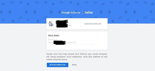 Cara Add Site Domain Blogspot pada Google Adsense Non Hosted