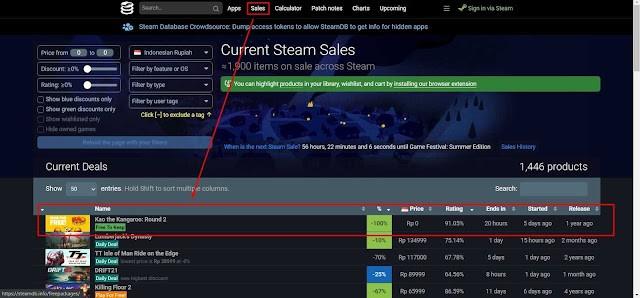Cara Mendapatkan Game Gratis Dari Steam