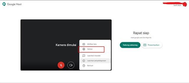 Cara Mengganti Background Video Google Meet
