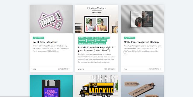 7 Situs Penyedia Mockup Gratis untuk Desainer