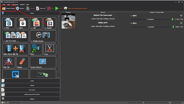 Cara Mengubah Format Video ke Format Lain