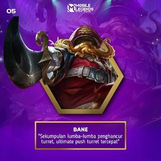Bane hero paling ampuh hancurkan tower